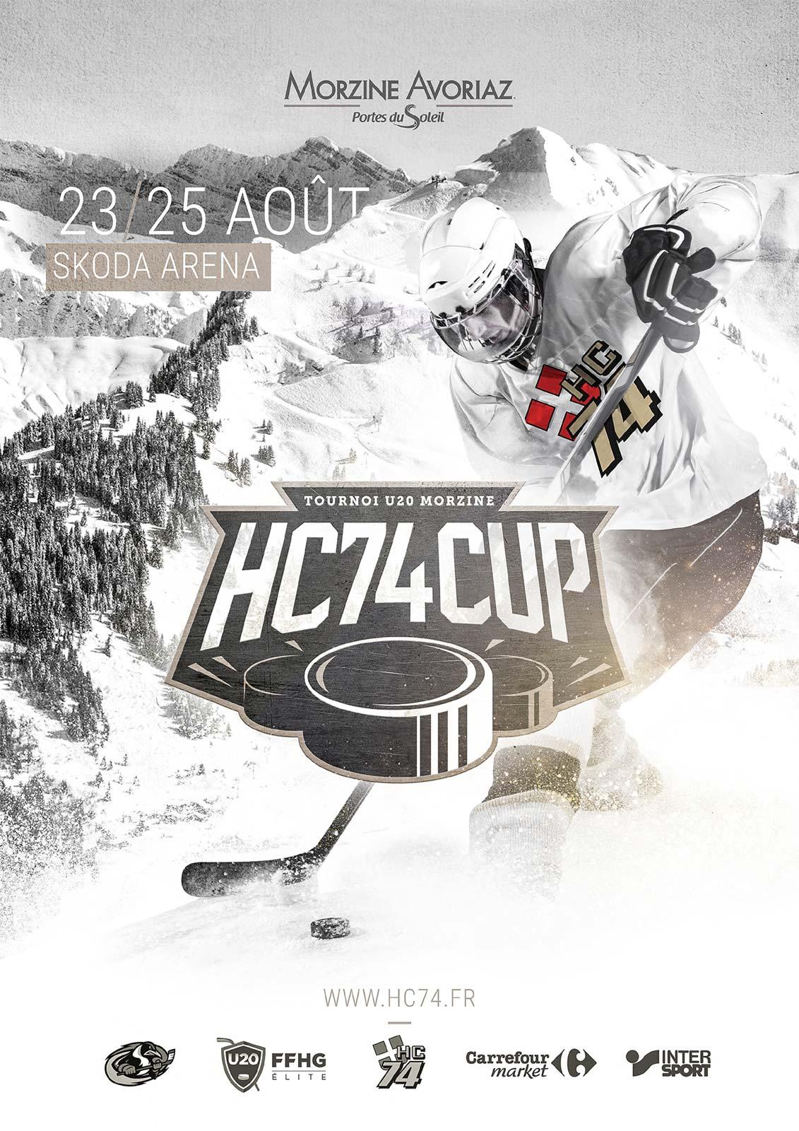 Affiche HC74 CUP