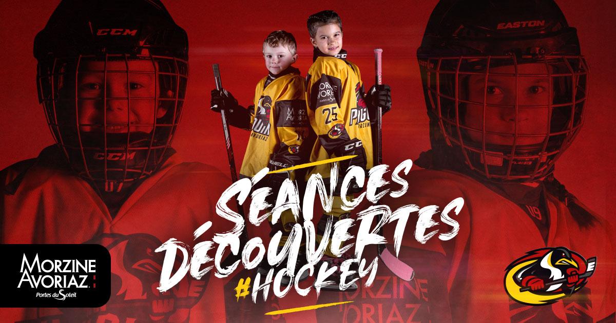 Journées découvertes hockey Morzine